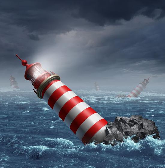 Når vi mister vores indre navigation og udvikler angst
