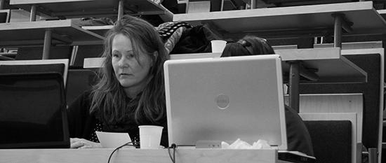 Lise Kryger forberedelse på Bigum & Co. kursus. Foto: Stine Birkelund