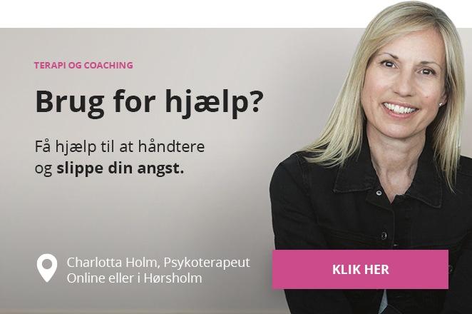 Få hjælp af angstbehandler online eller i Hørsholm